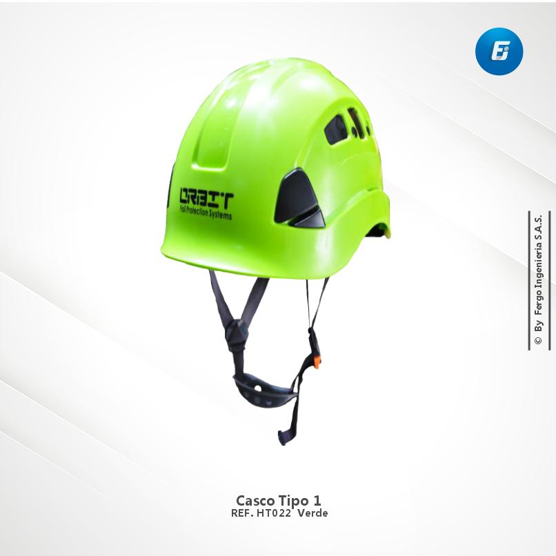 Casco Tipo 1 Ref.HT022 Verde