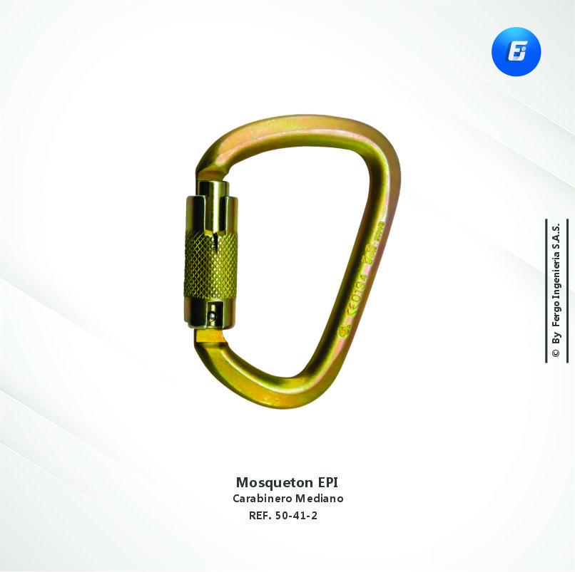 Mosquetón EPI Carabinero Mediano REF. 50-40-2