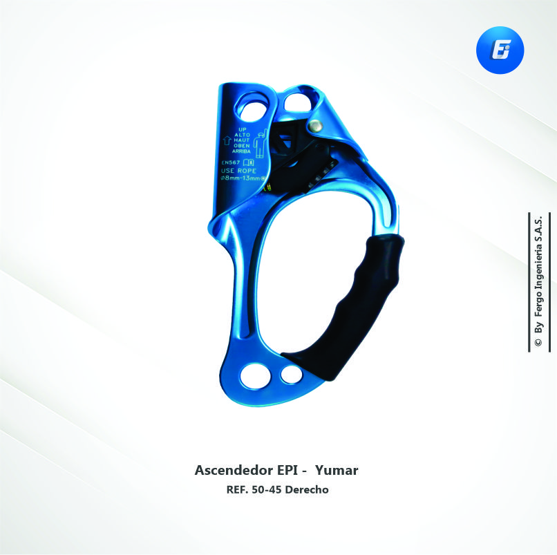 Ascendedor EPI  Ref.50-45 Derecho