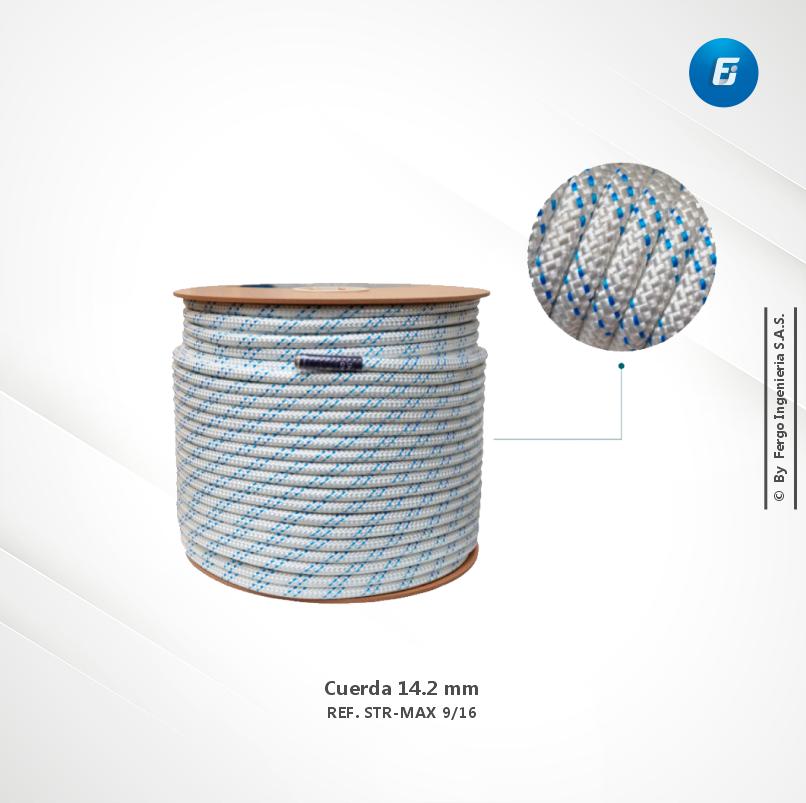 Cuerda 14.2 mm  Ref. STR-MAX 9/16