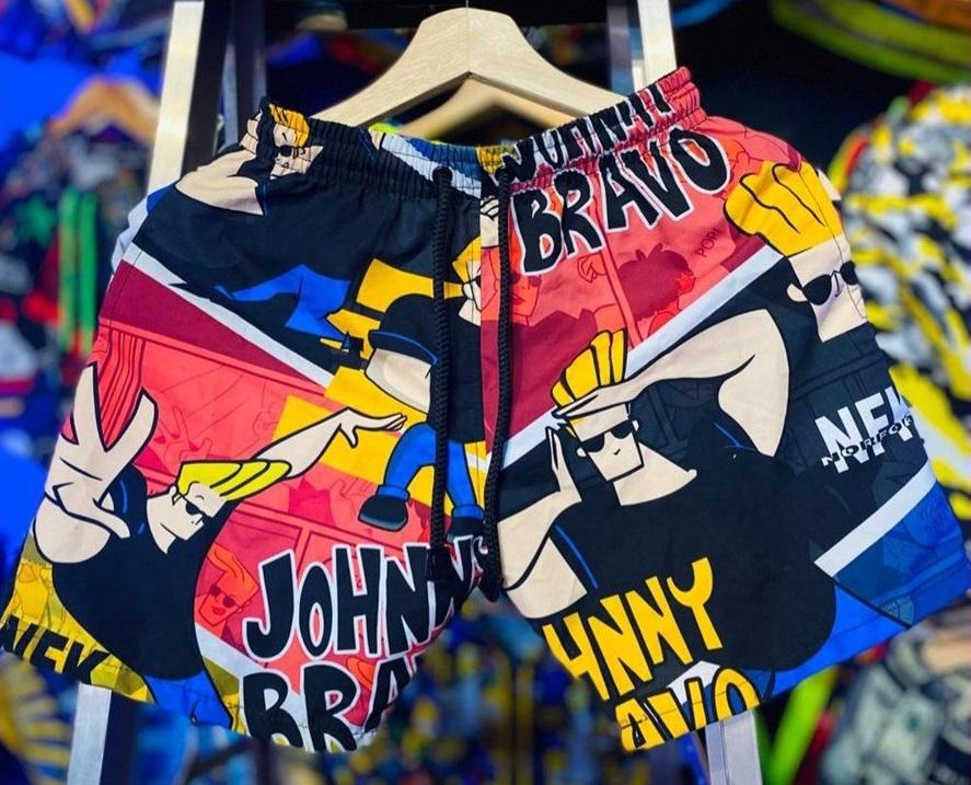 pantaloneta Jhonny Bravo