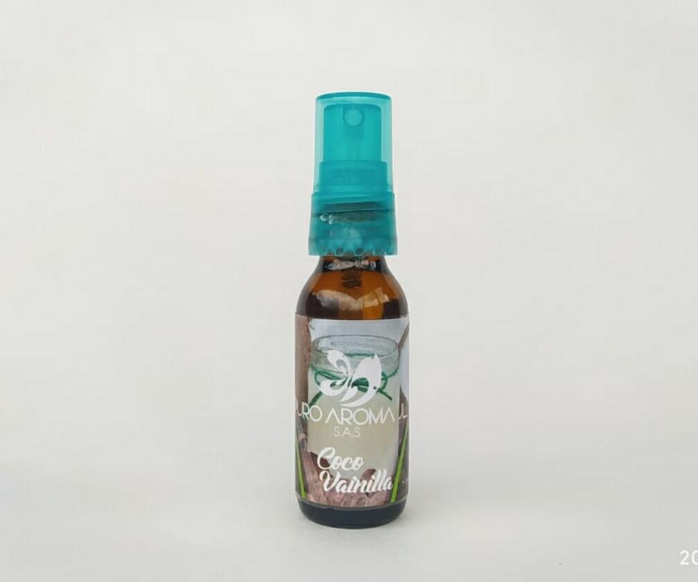 Ambientador aroma coco vainilla