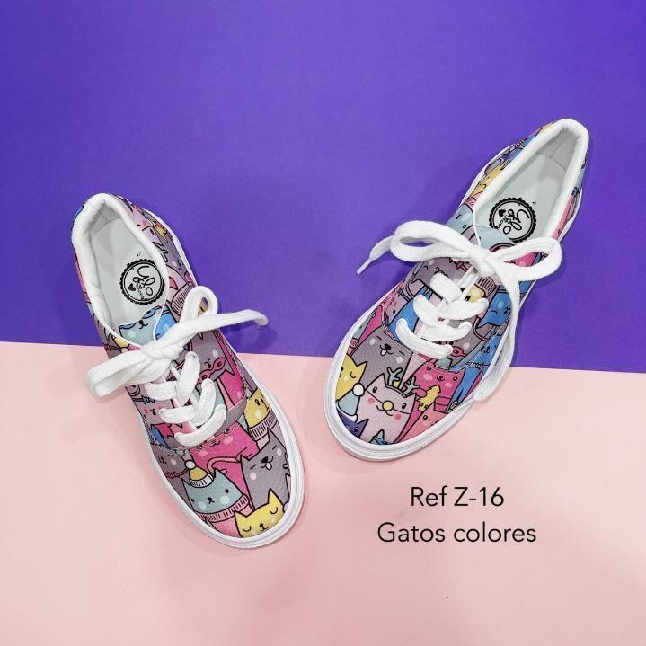 Refz-16 Gatos colores