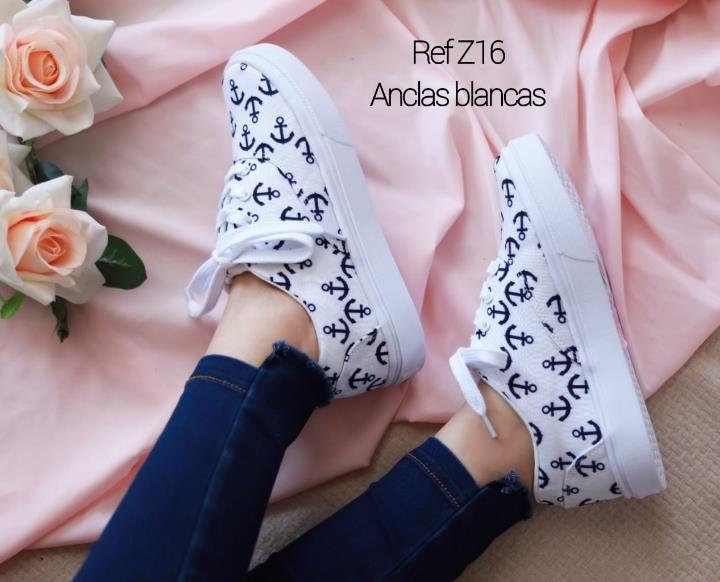 Refz-16 Anclas blancas