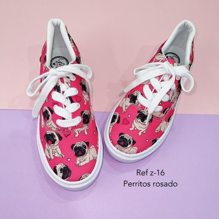 Refz-16 Perritos rosados