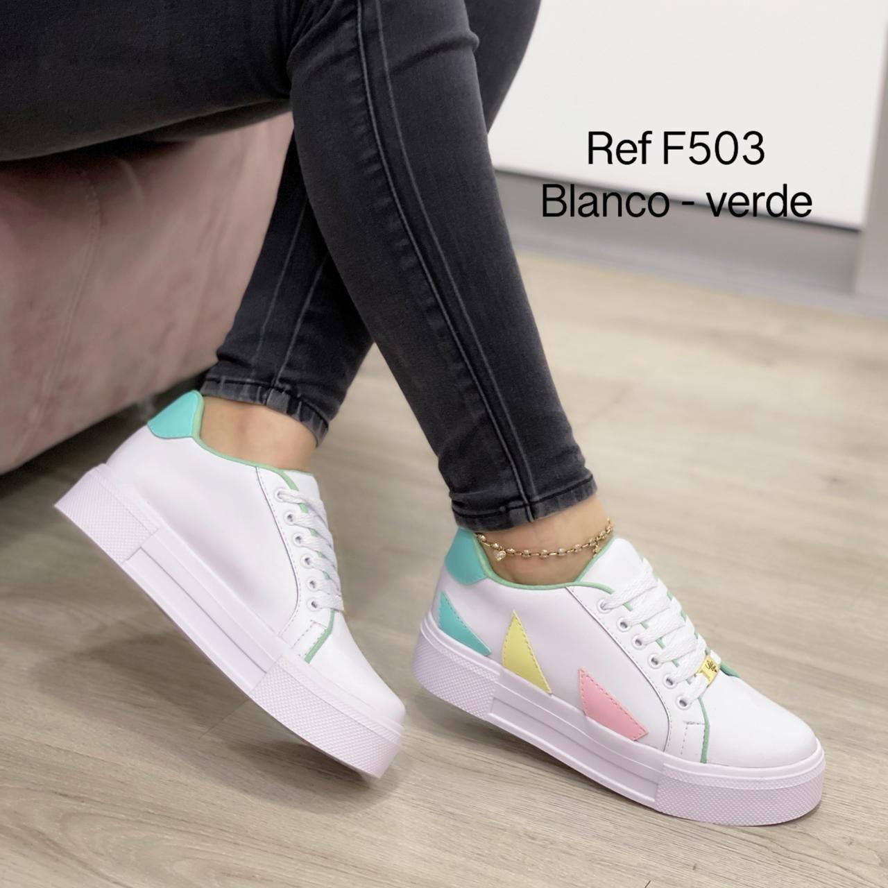 RefF-503 Blanco/verde