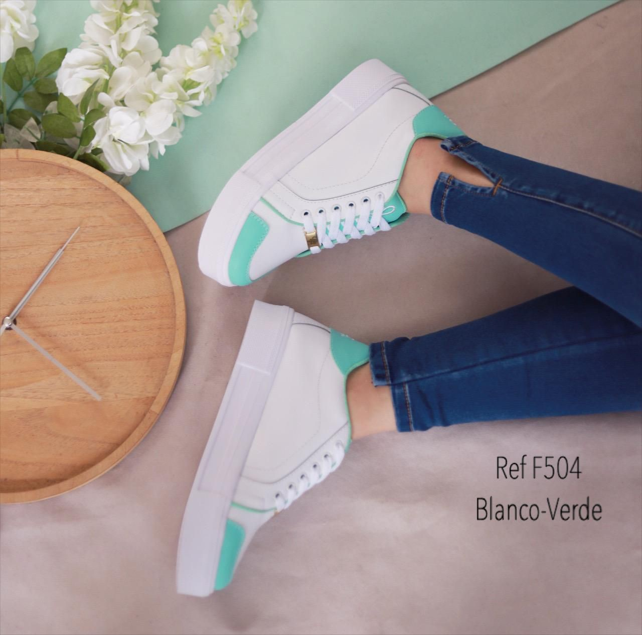 RefF-504 Blanco/verde