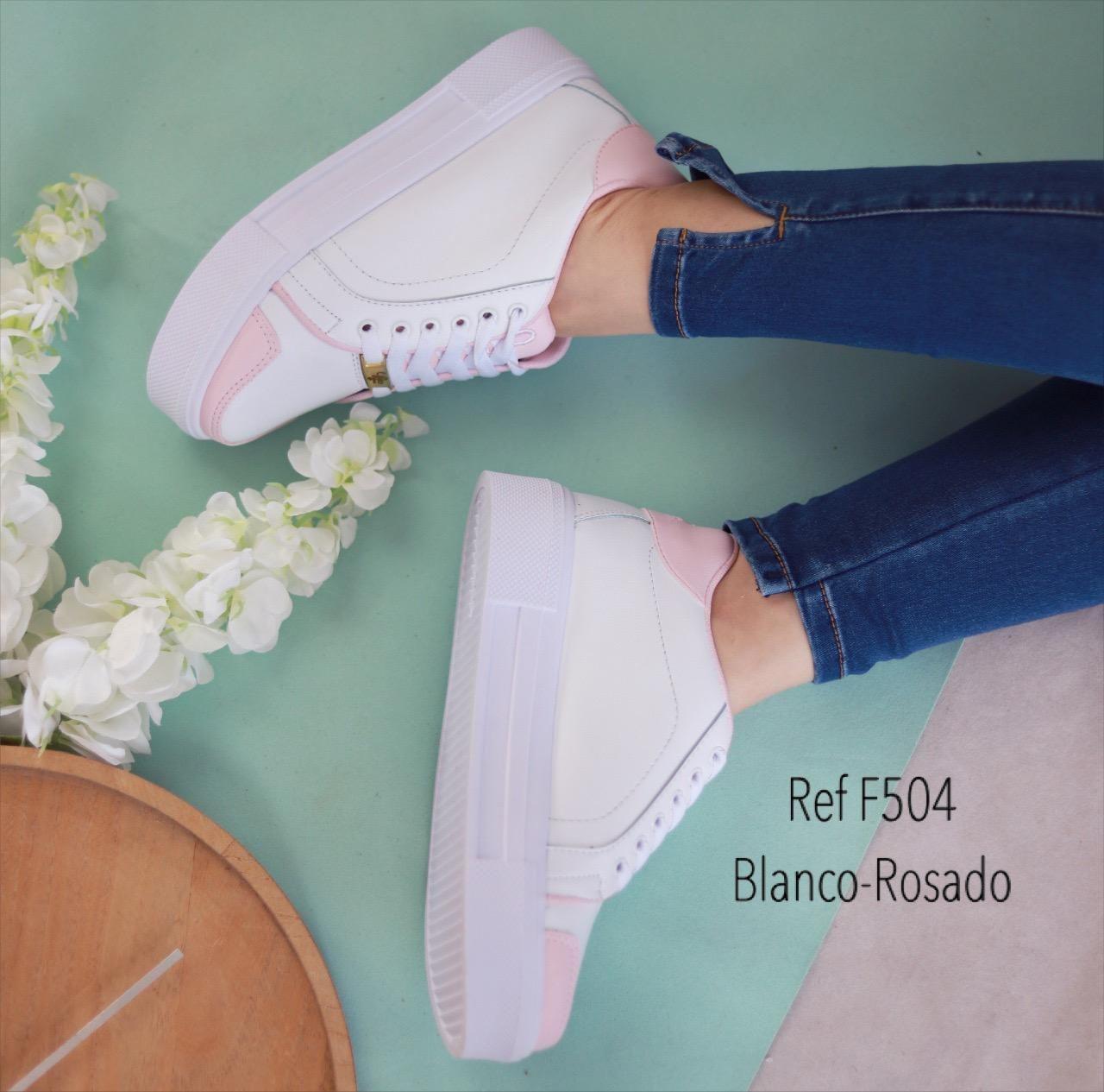 RefF-504 Blanco/rosado