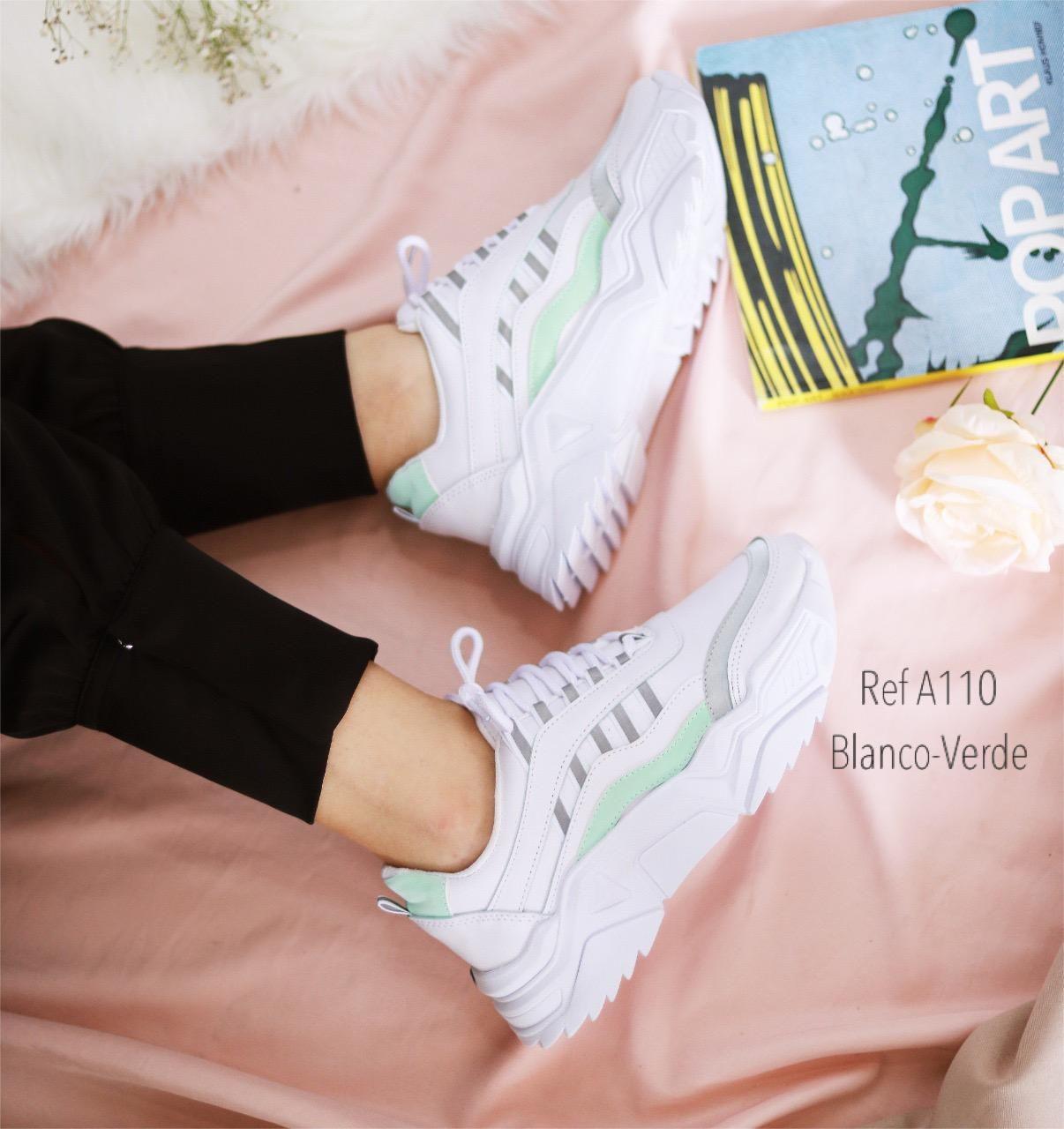 RefA-110 Blanco- verde