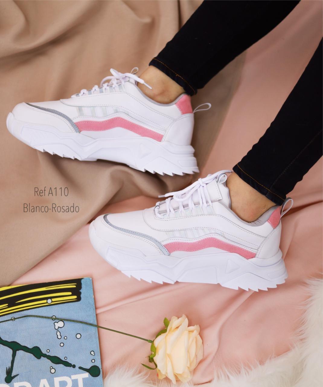 RefA-110 Blanco- rosado