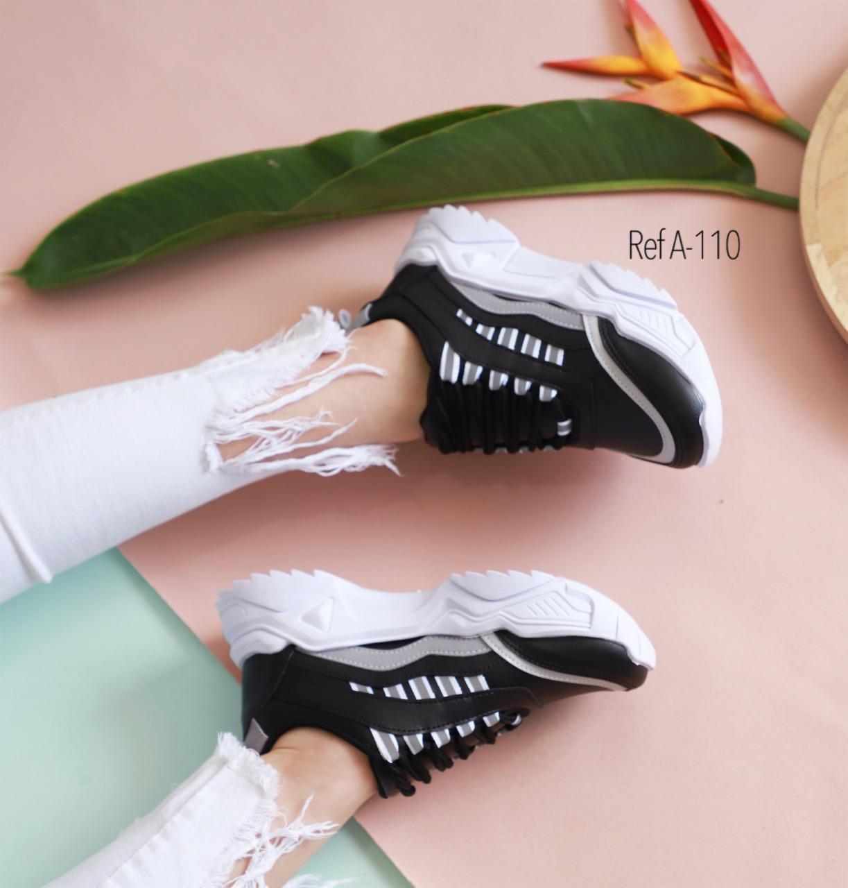 RefA-110 Negro-Blanco