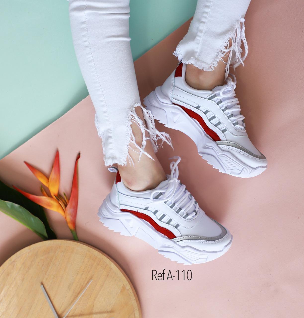RefA-110 Blanco-Rojo