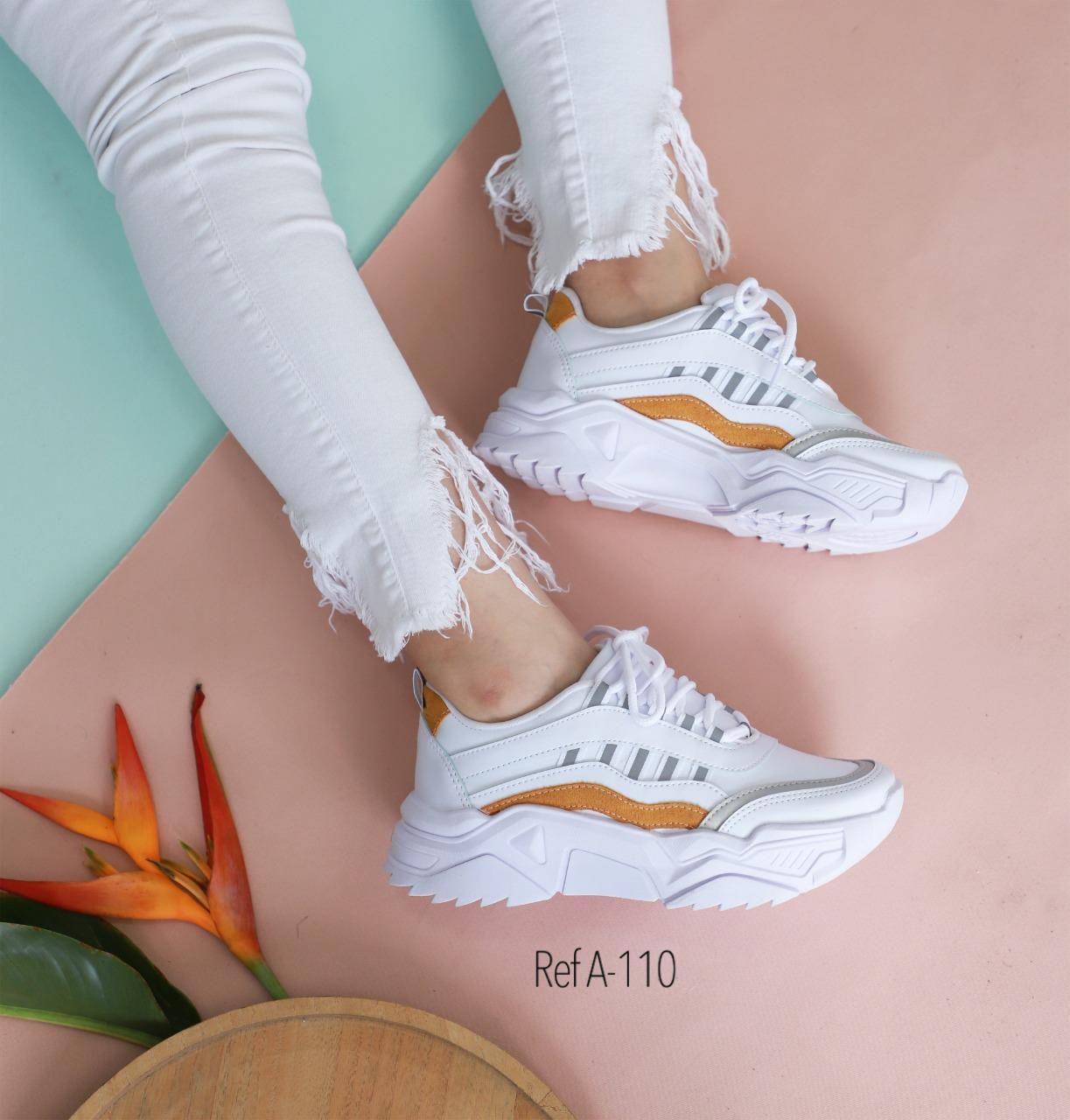 RefA-110 Blanco-Naranja