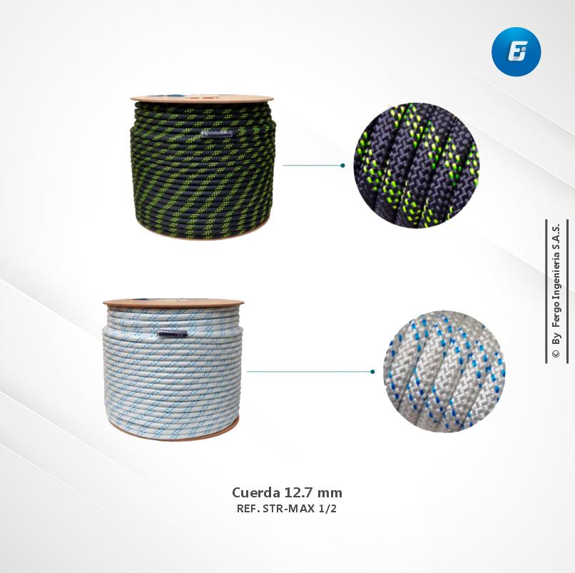 Cuerda 12.7 mm  Ref. STR-MAX 1/2